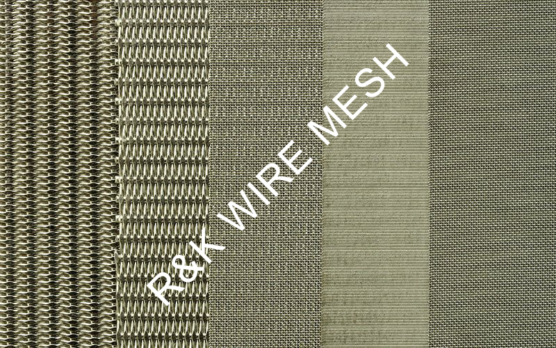 The 5 layers of sintered mesh